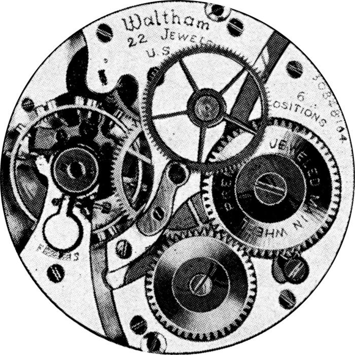 Pocket serial waltham list watch number