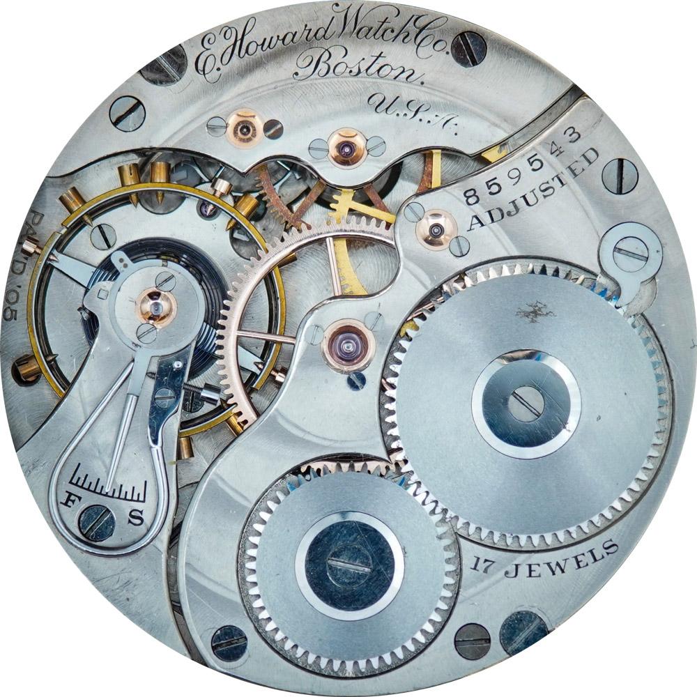 E. Howard Watch Co. (Keystone) Grade Series 3 Pocket Watch Movement