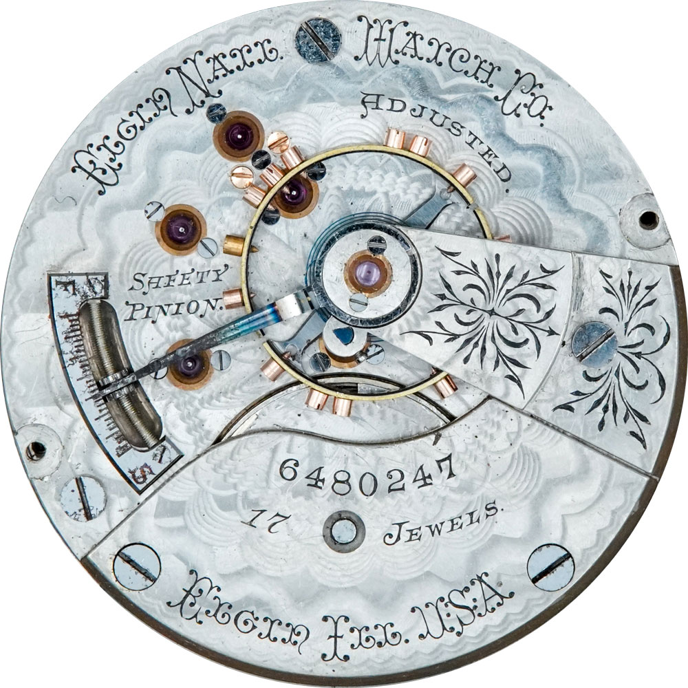 Elgin Grade 166 Pocket Watch Image