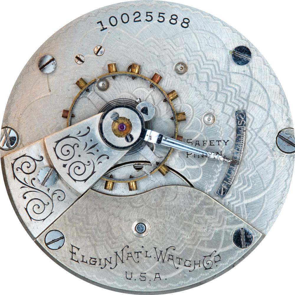 Elgin Pocket Watch Grade 207 #8634609