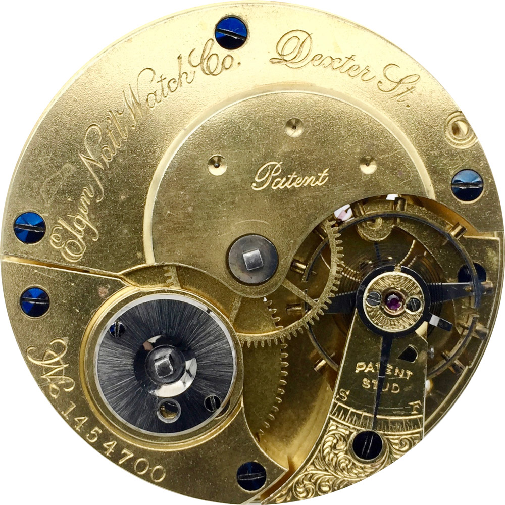 Elgin Grade 28 Pocket Watch Image