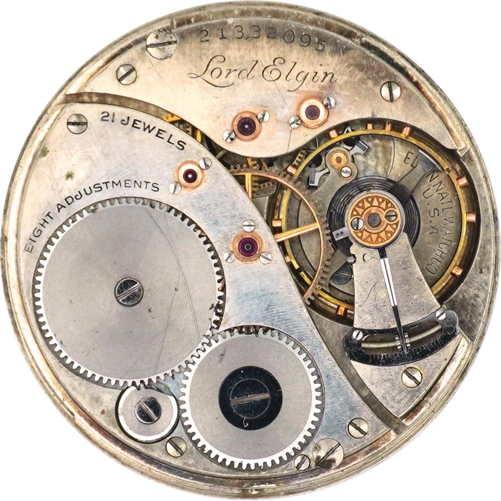 Elgin Grade 450 Pocket Watch Movement