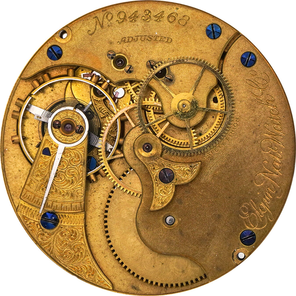 Elgin Grade 83 Pocket Watch Image