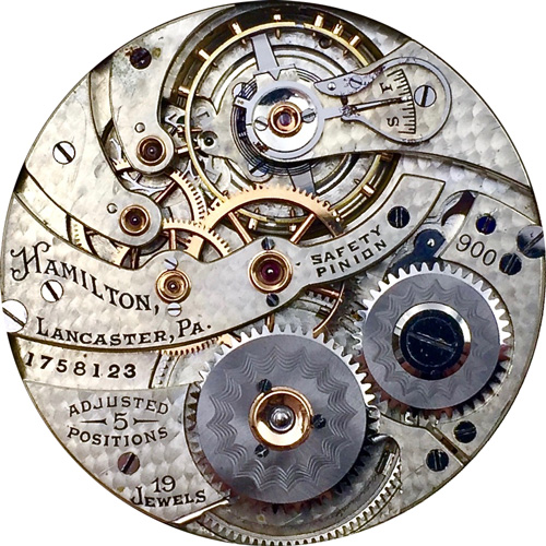 Hamilton Grade 900 Pocket Watch Image
