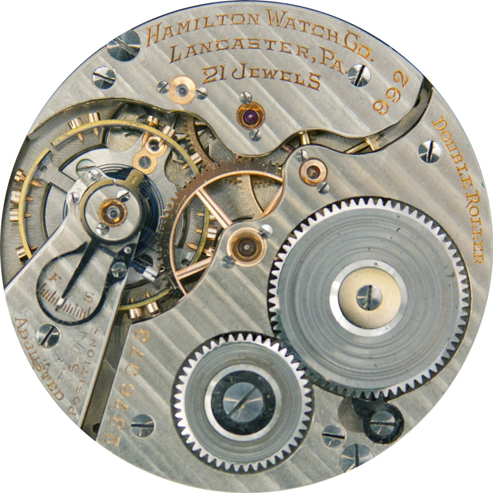 Hamilton Grade 992 Pocket Watch Movement