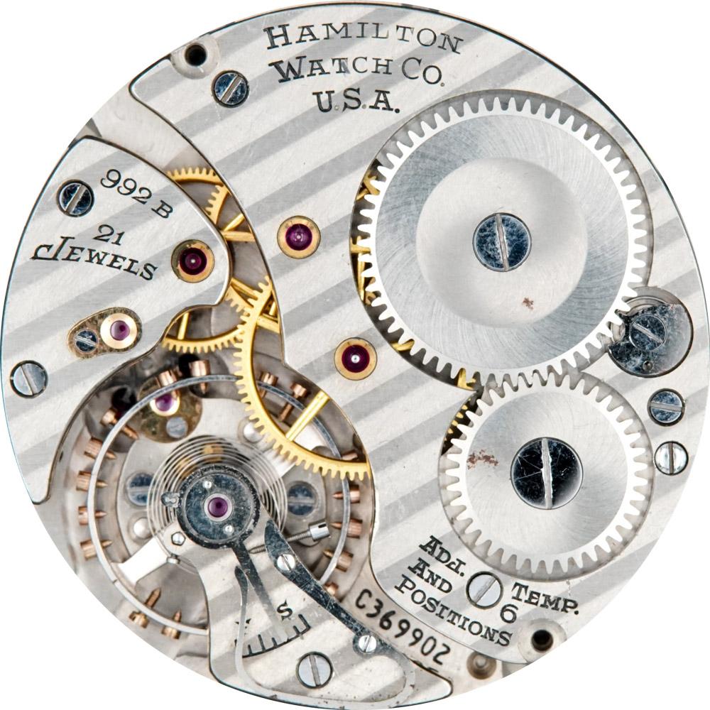 Hamilton Pocket Watch Grade 992B #C141156