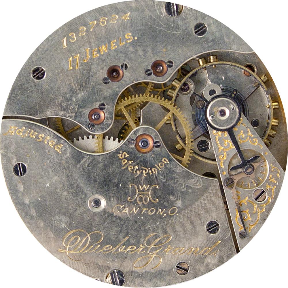 Hampden Pocket Watch Grade Dueber Grand #1328845