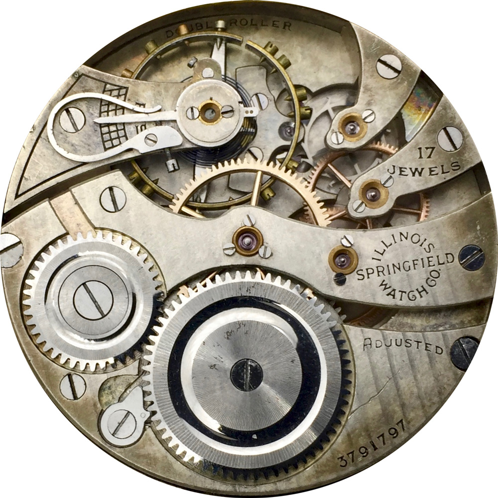 Illinois Grade 305 Pocket Watch Movement