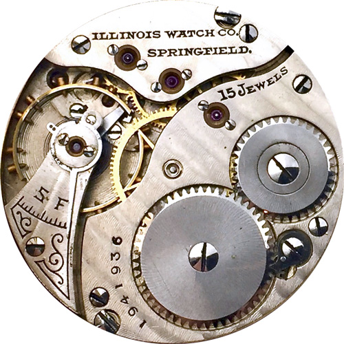 Illinois Pocket Watch Grade 35 #1837829