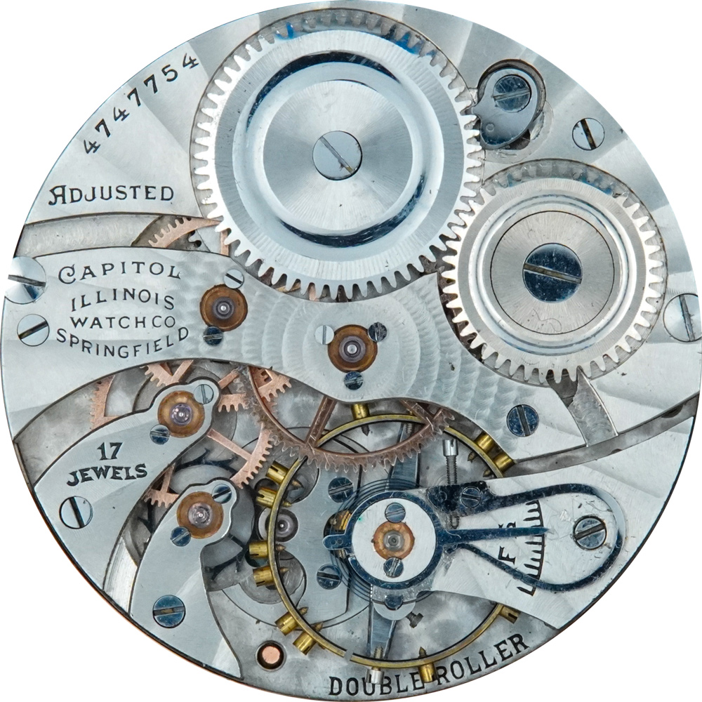 Illinois Pocket Watch Grade 405 #3827328