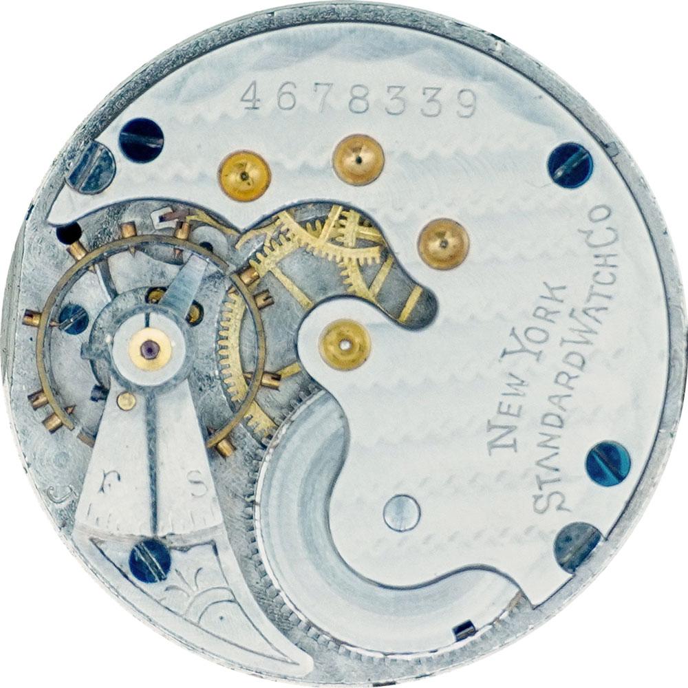 New York Standard Watch Co. Pocket Watch Grade 144 #4642209