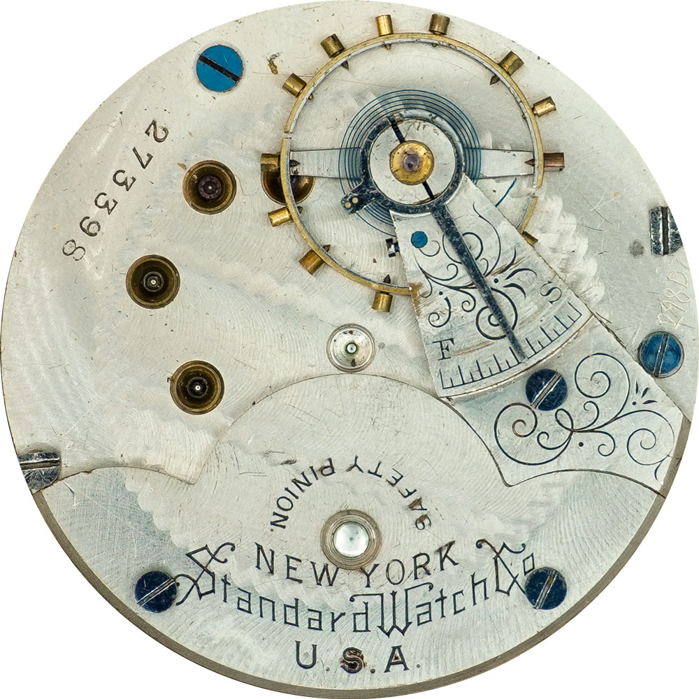 New York Standard Watch Co. Grade 41 Pocket Watch Image