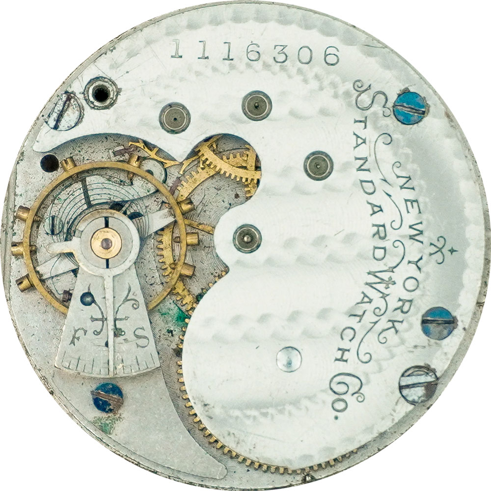 New York Standard Watch Co. Grade 44 Pocket Watch Image