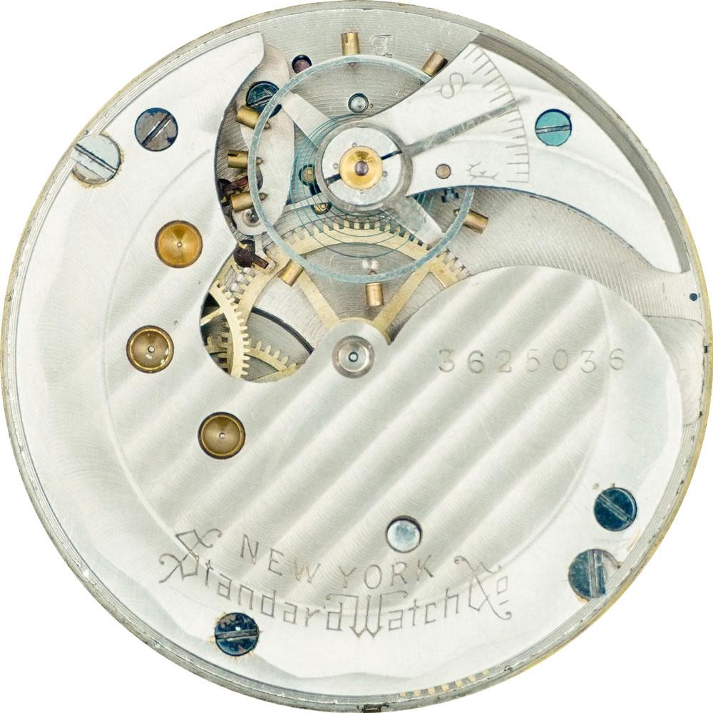 New York Standard Watch Co. Pocket Watch Grade 61 #1498457