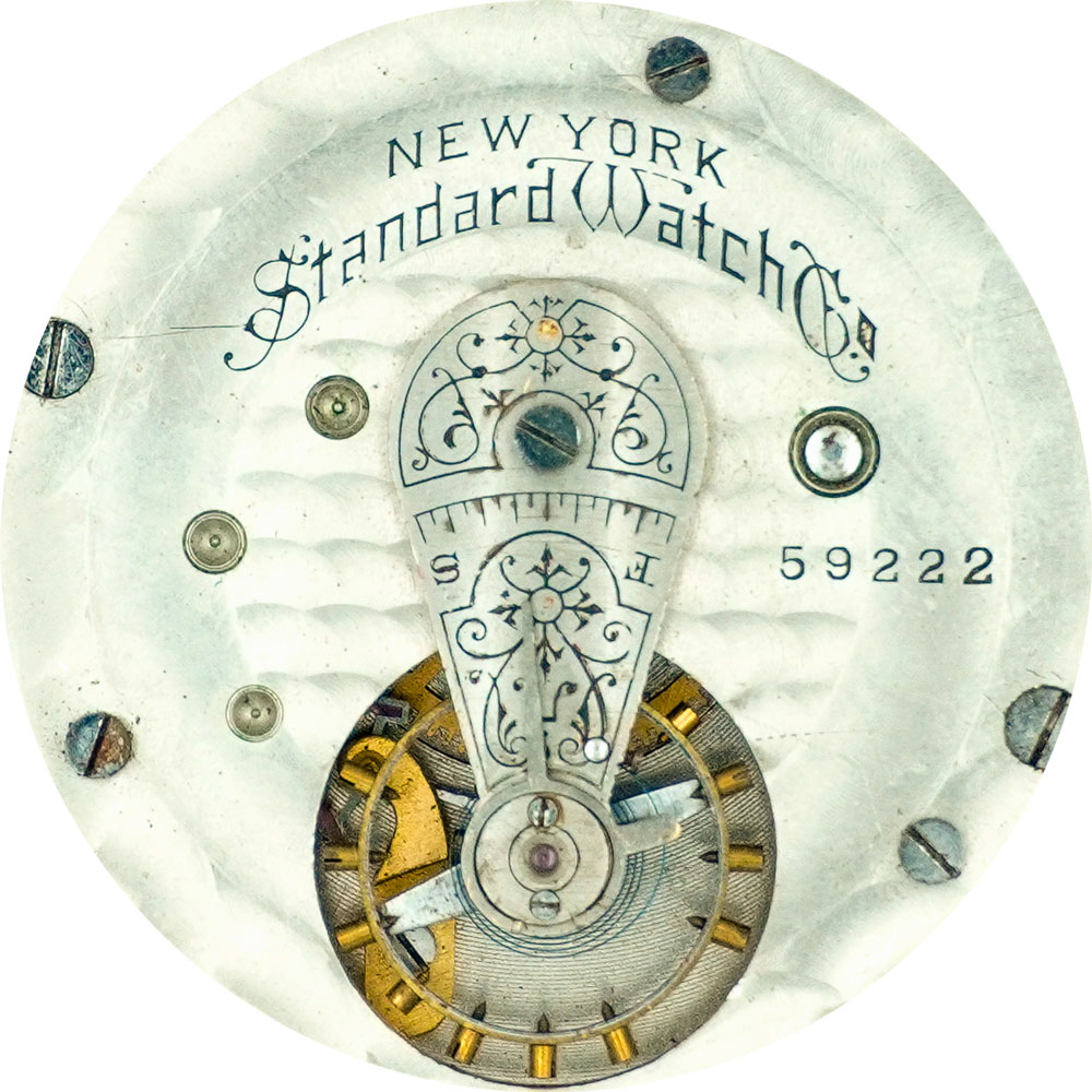 New York Standard Watch Co. Pocket Watch Grade Standard 30 #73246