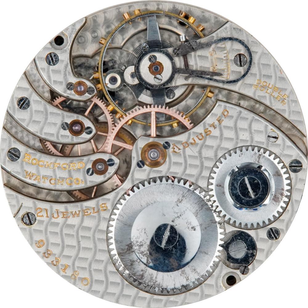 Rockford Pocket Watch Grade 375 #933180