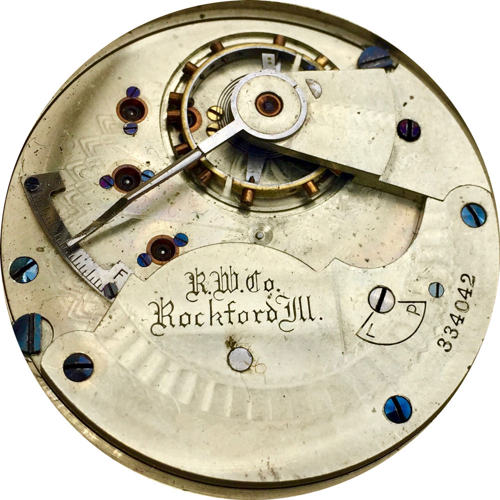 Rockford Pocket Watch Grade 66 #334216