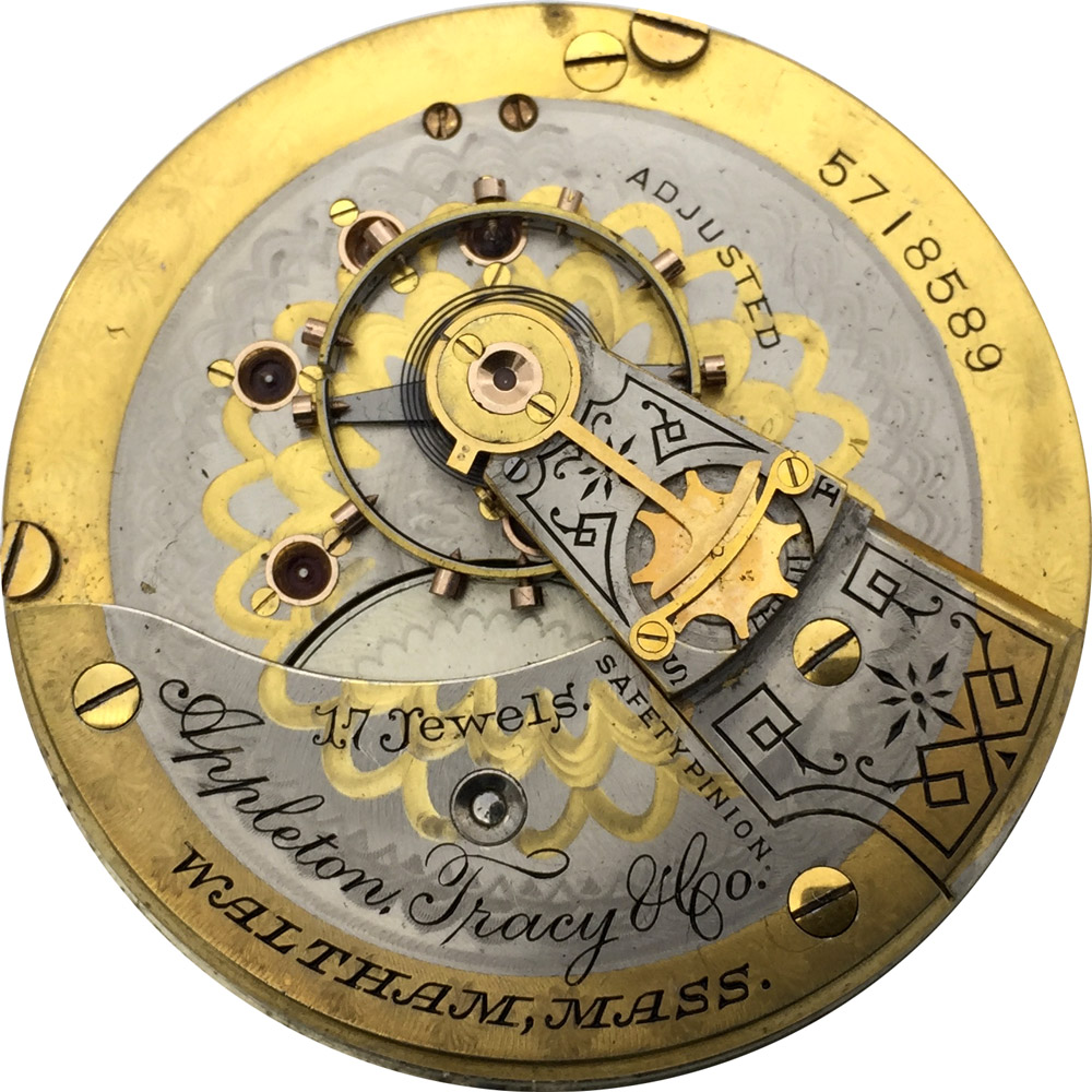 Waltham pocket watch value by serial number
