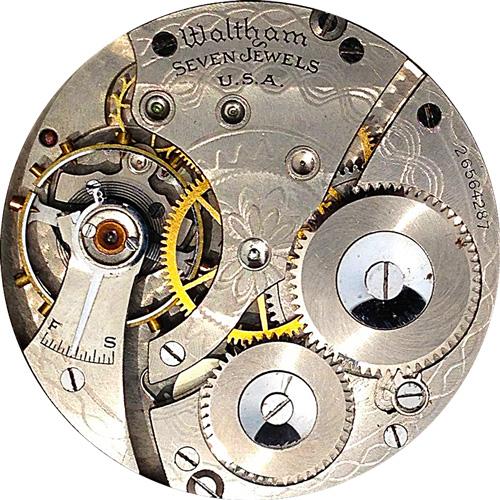 Waltham Pocket Watch Grade No. 610 #14763913