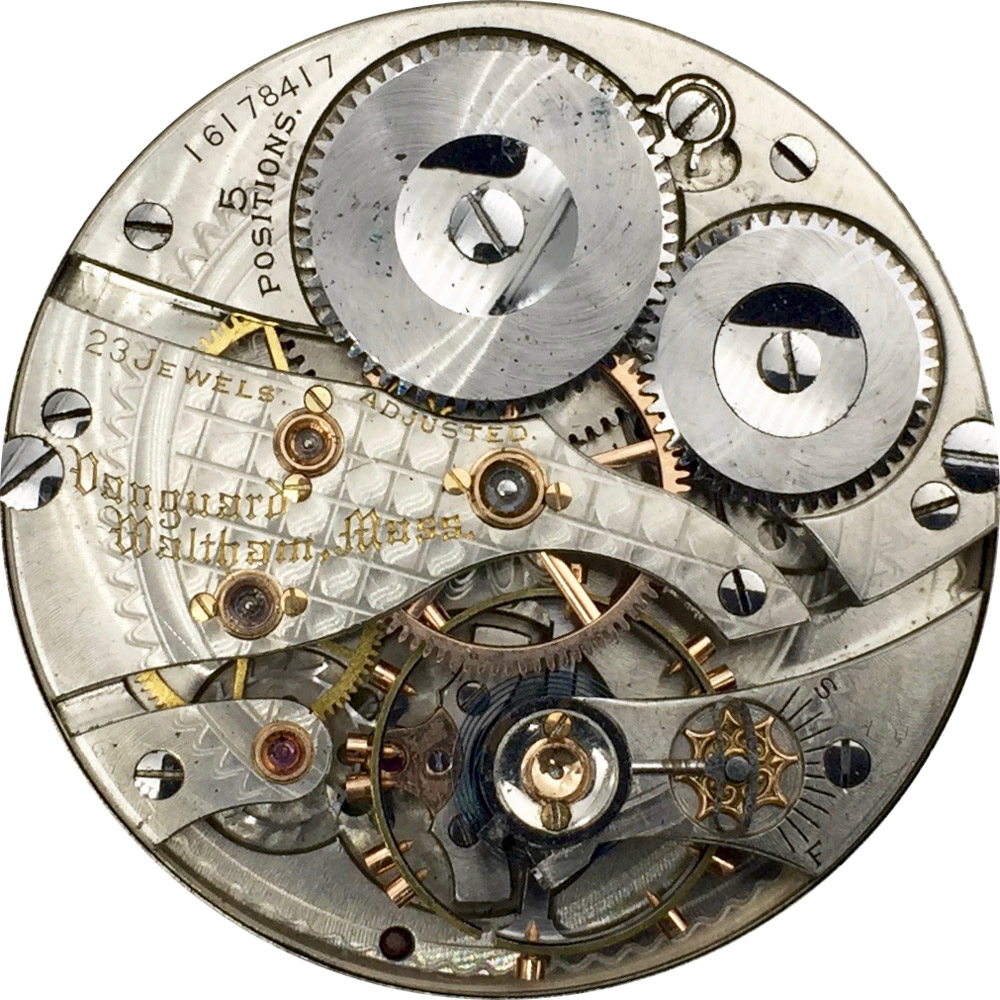 Waltham Grade Vanguard Pocket Watch Movement