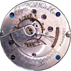 Elgin Pocket Watch #4349275
