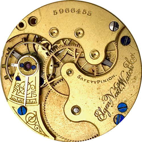 Elgin Pocket Watch #6785748