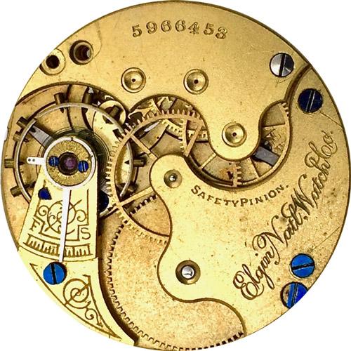 Elgin Pocket Watch Grade 117 #5448190