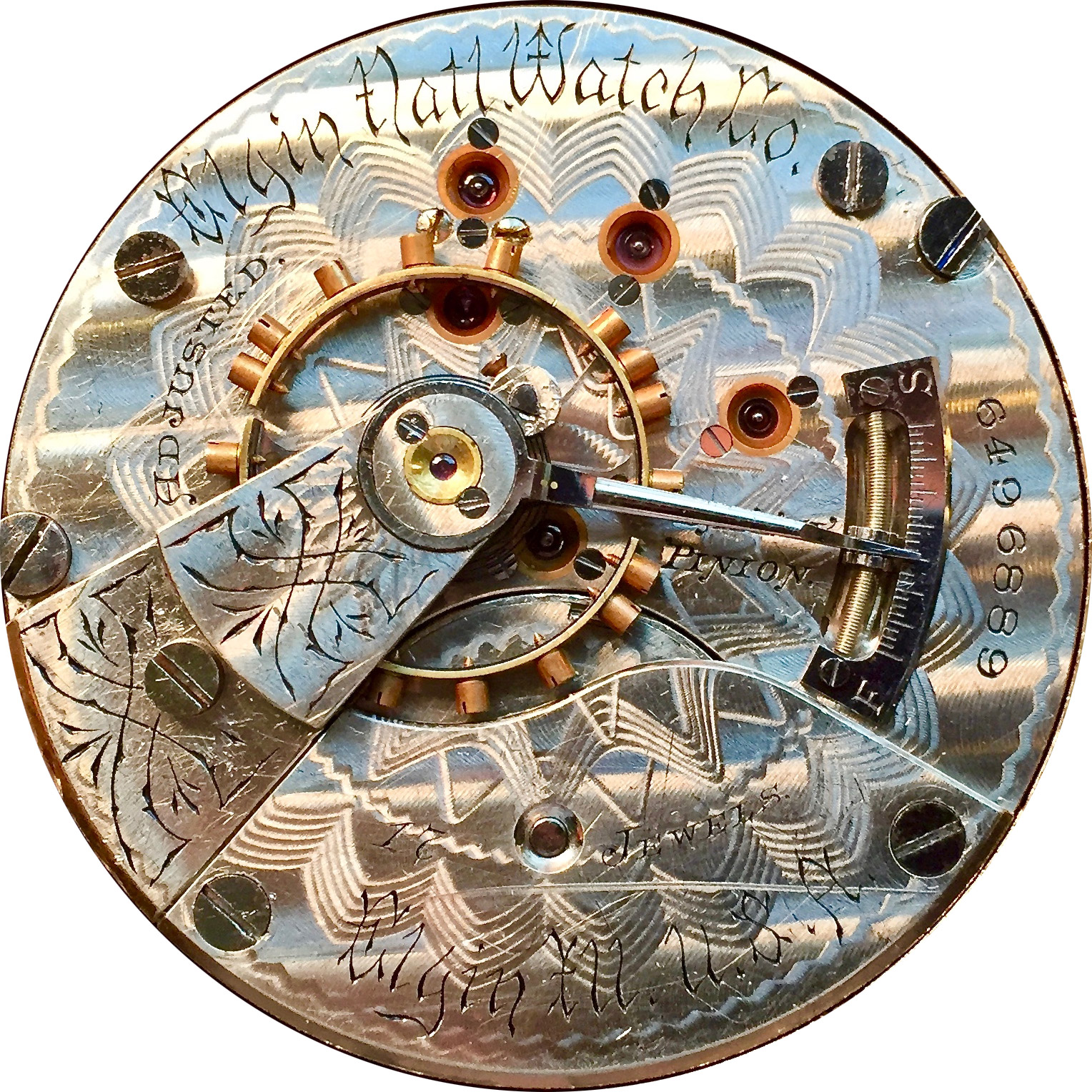Elgin Grade 163 Pocket Watch Image