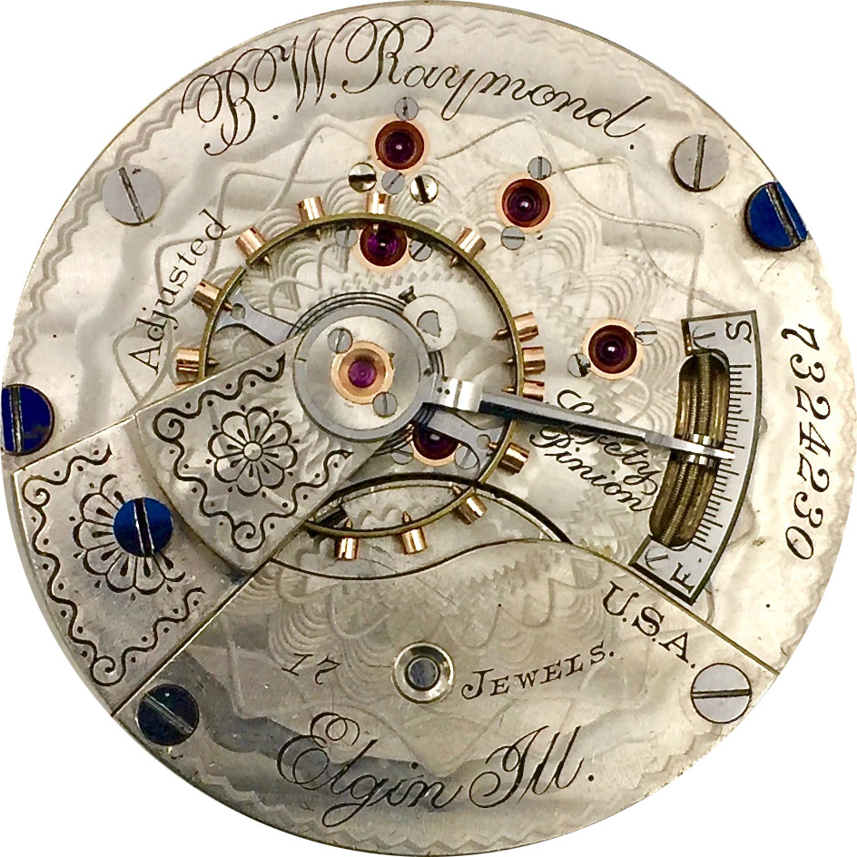 Elgin Grade 183 Pocket Watch Image