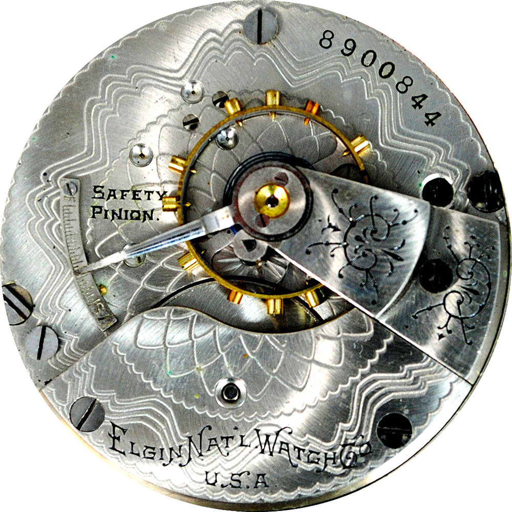 Elgin Grade 208 Pocket Watch Image