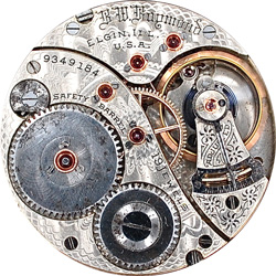 Elgin Pocket Watch #14005644