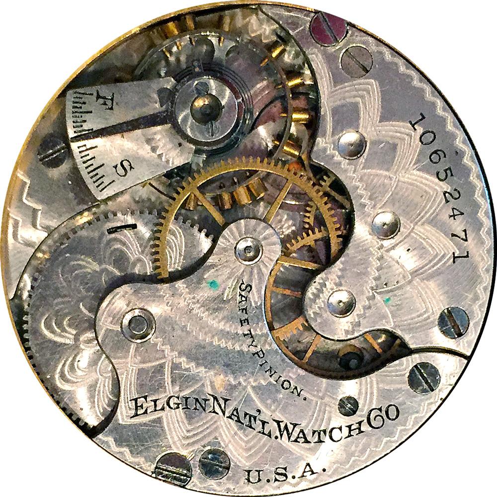 Elgin Grade 286 Pocket Watch Movement