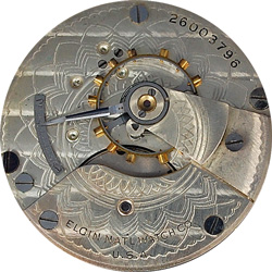 Elgin Pocket Watch #13895279