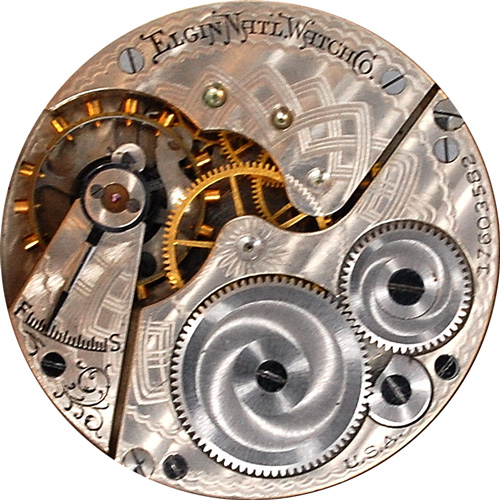 Elgin Pocket Watch Grade 290 #12554368