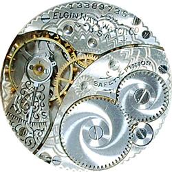 Elgin Pocket Watch #12772184