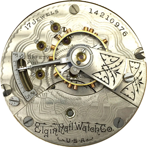Elgin Pocket Watch #17081225