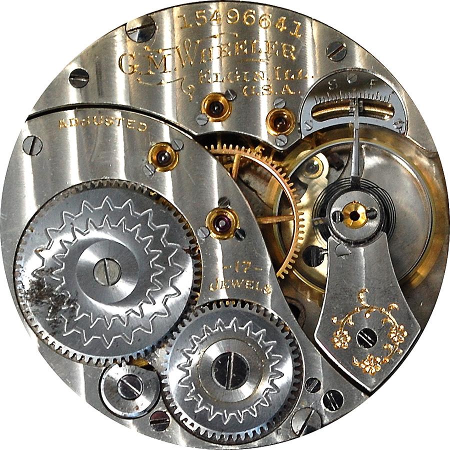 Elgin Pocket Watch Grade 347 #12860588