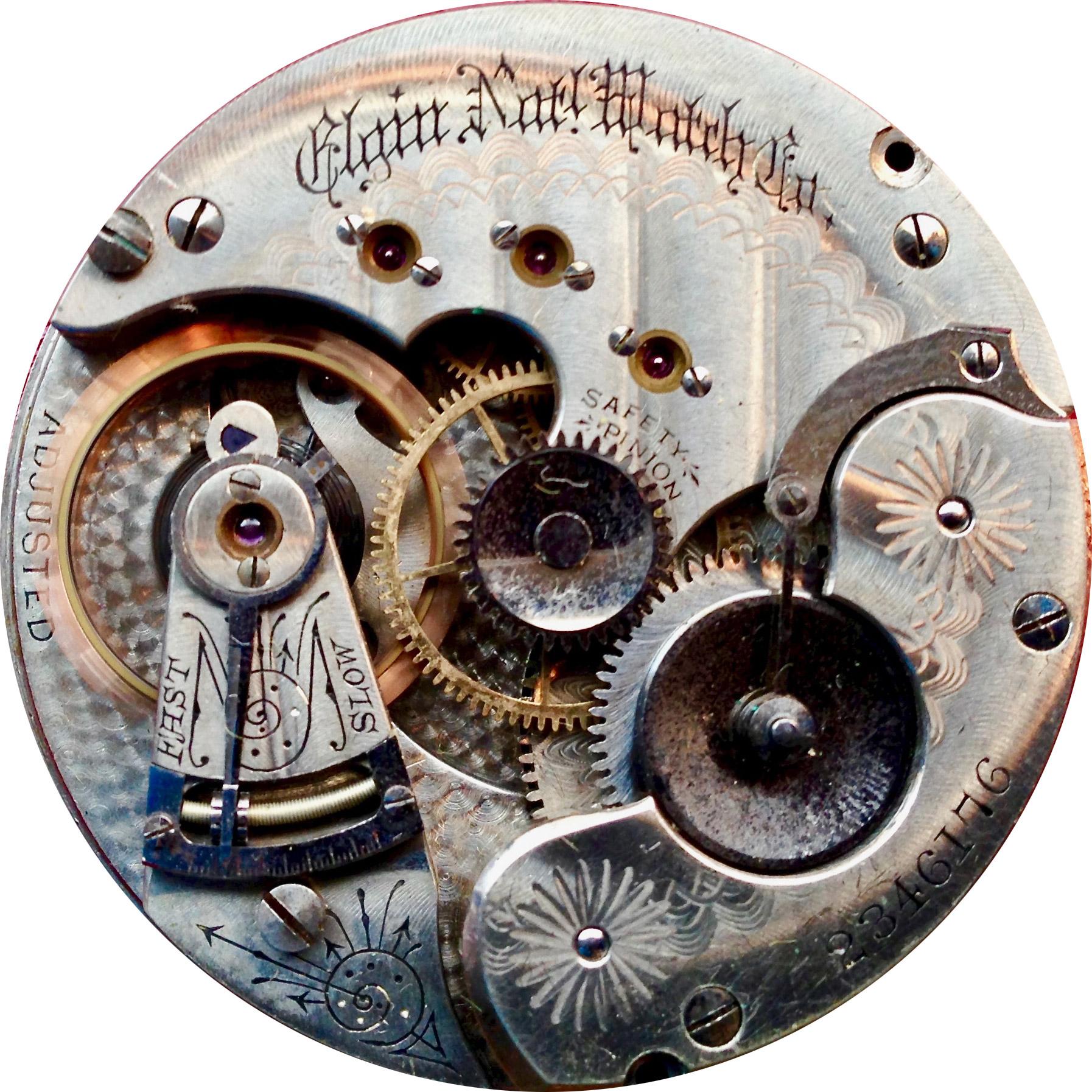 Elgin Pocket Watch Grade 50 #1329210