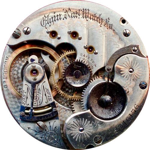 Elgin Pocket Watch #4507394