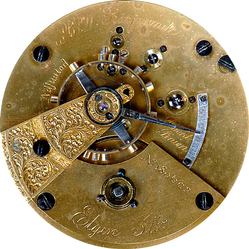 Elgin Pocket Watch Grade 69 #865355