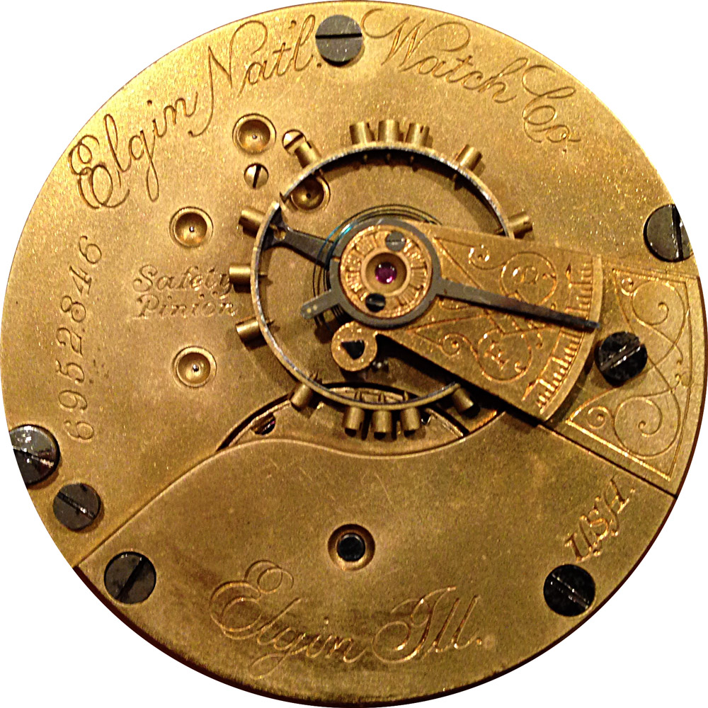 Elgin Pocket Watch Grade 73 #5261328
