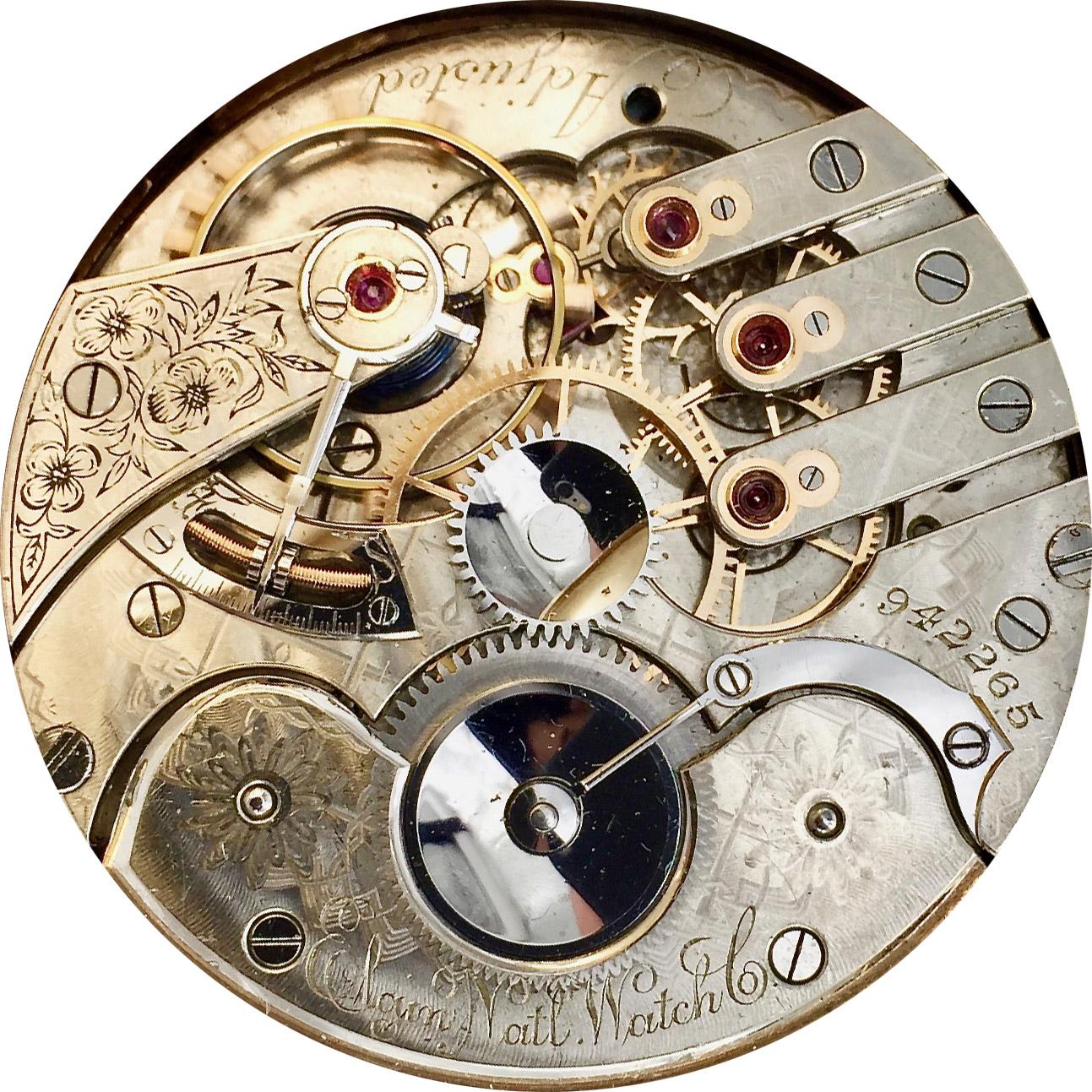 Elgin Grade 91 Pocket Watch Image