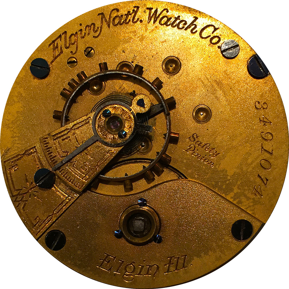 Elgin Grade 97 Pocket Watch Movement