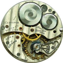 Hamilton Grade 2974B Pocket Watch Image