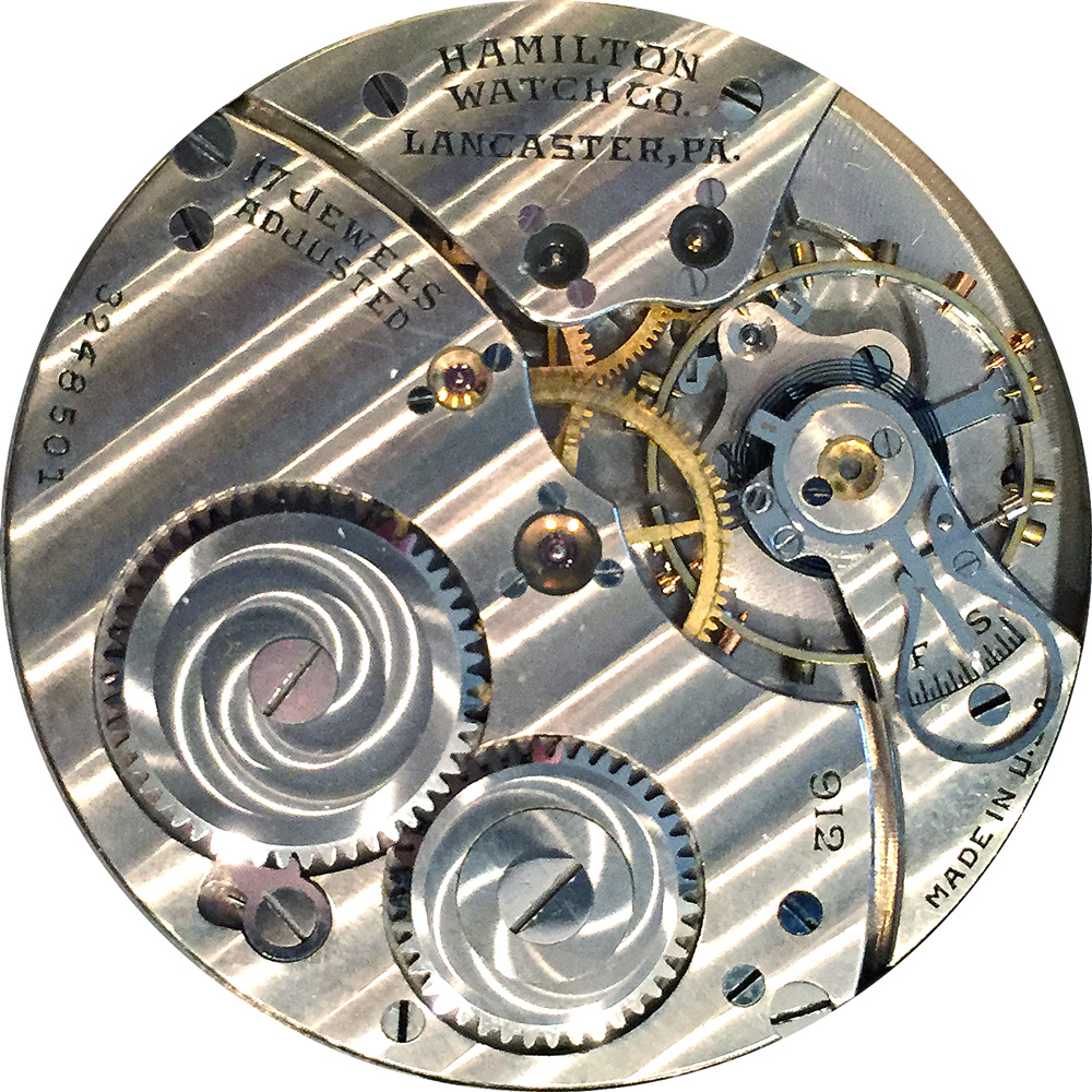 Hamilton Grade 912 Pocket Watch Image