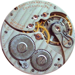 Hamilton Pocket Watch Grade 914 #1818815