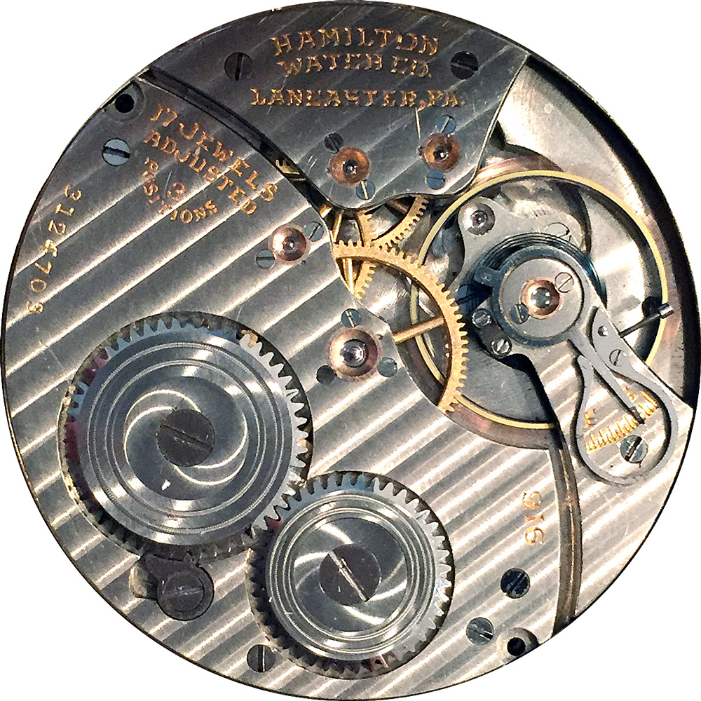 Hamilton Grade 916 Pocket Watch Image