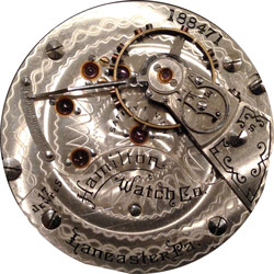 Hamilton Pocket Watch #228393