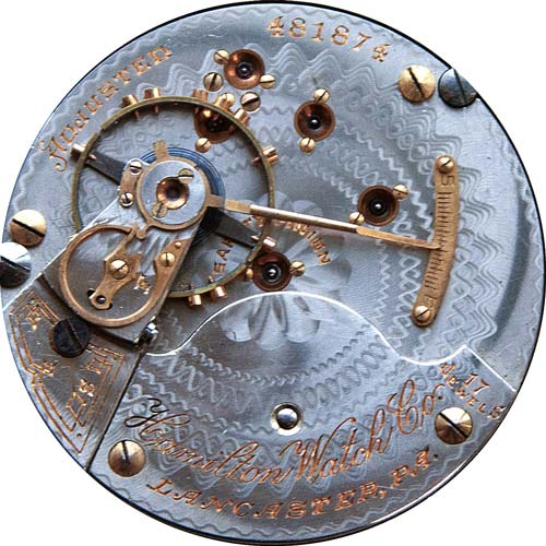 Hamilton Pocket Watch Grade 927 #243285