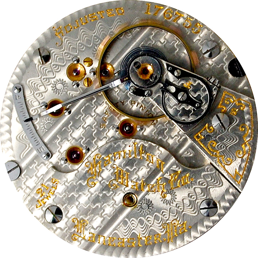 Hamilton Grade 940 Pocket Watch Movement